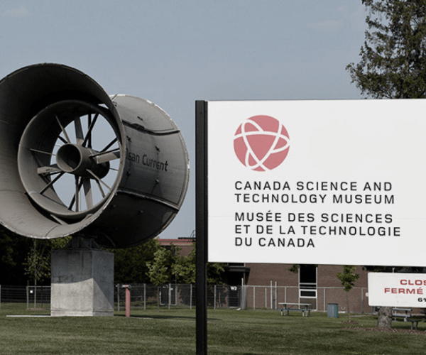 Canada Science and Technology Museum - Outside