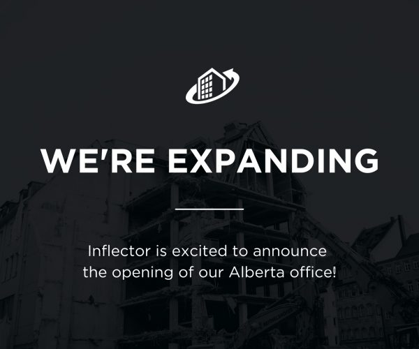 We're expanding - Inflector expands to Alberta